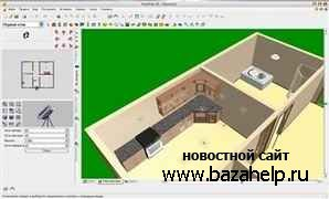 Программа дизайна FloorPlan 3D Design Suite 11.2.6 + русский язык + автоматическая установка